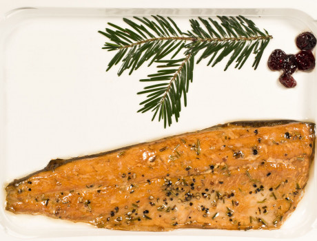 Smoked trout file