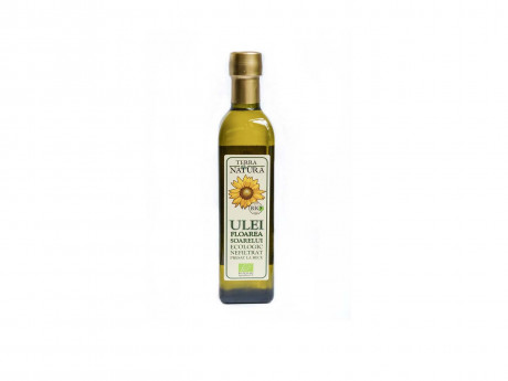 Sunflower seed oil, BIO, cold pressed and unfiltered