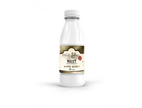 Lapte bătut Nucet 2% grăsime