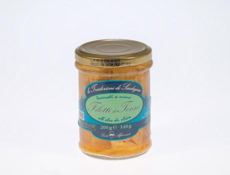 File de Ton în ulei de măsline