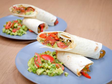 UCOOK: Tortilla cu legume și guacamole