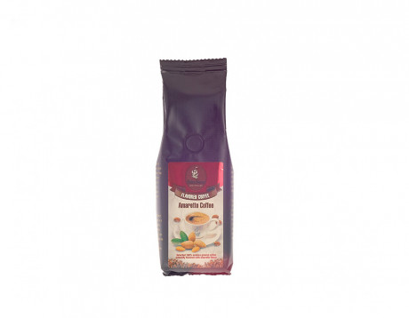 Cafea măcinată cu aromă de amaretto