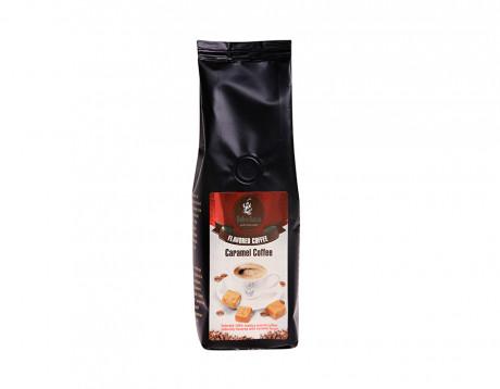 Cafea măcinată cu aromă de caramel