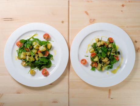 UCOOK: Salată caldă de cartofi