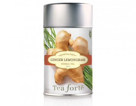 Ceai organic fără cofeină Ginger Lemongrass
