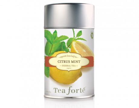 Ceai organic fără cofeină Citrus Mint