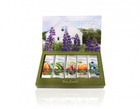 Cutie cu 15 infuzii de ceai Herbal Retreat