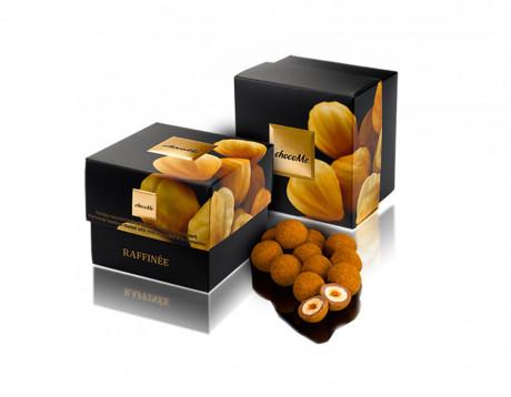 Alune din Piemonte îmbrăcate în ciocolată cu lapte și scortișoară