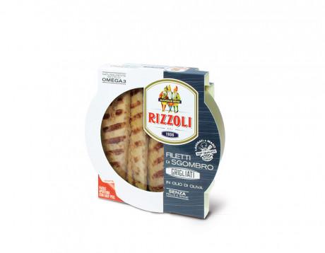 File de macrou grill în ulei de măsline Rizzoli