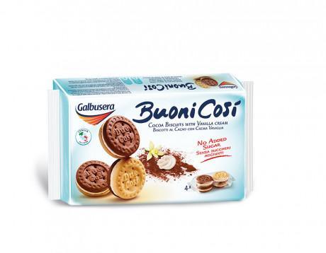 Biscuiți cu cremă de vanilie Buoni Cosi