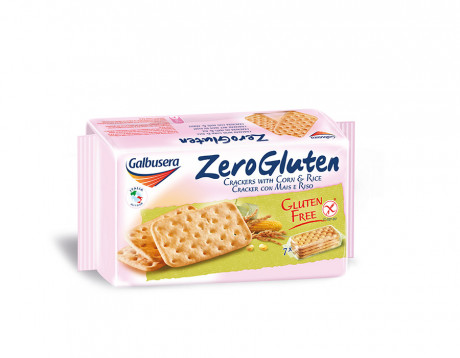 Rice & corn crakers Zero Gluten