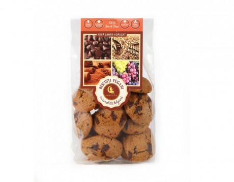 Biscuiți Vegani cu ciocolată belgiană