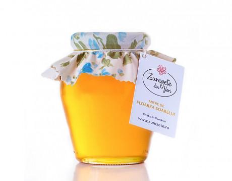 Miere de floarea soarelui Zumzete