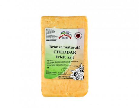 Brânză maturată cheddar Karpaten Milk