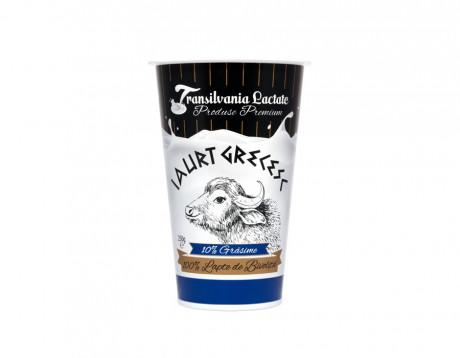 Iaurt din lapte de bivoliță 10% grăsime/ Grecesc