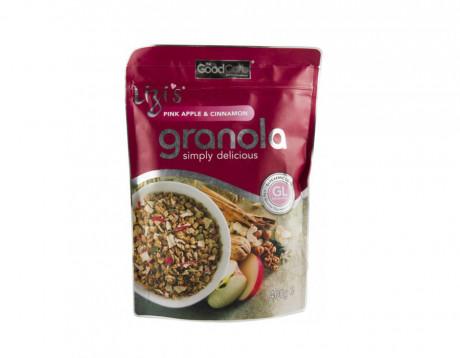 """Musli granola """"Lizi's"""" cu măr și scorțișoară"""