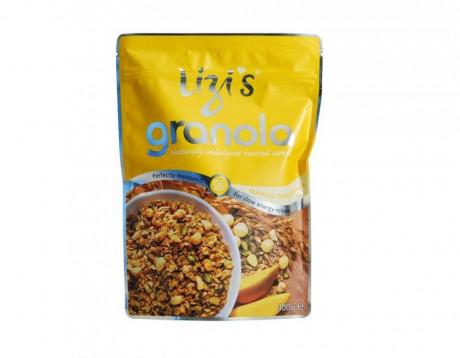 "Musli granola ""Lizi's"" cu mango și nuci macadamia"