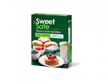 Îndulcitor natural cu extract de ștevie Sweet & Safe