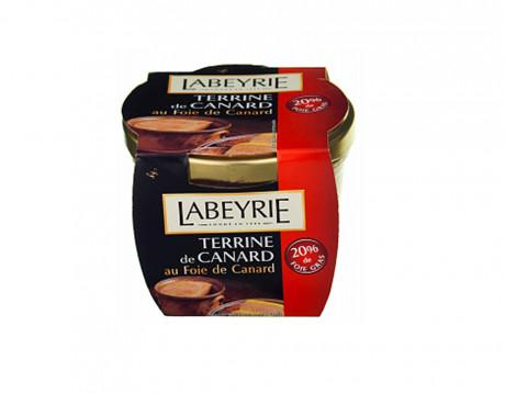 Terină de rață 20% foie gras Labeyrie