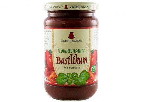 Tomato sauce with basil BIO