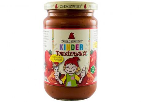 Sos bio de roșii cu mere pentru copii