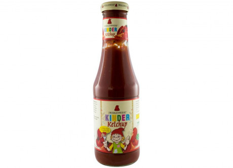 BIO ketchup for children with tomato and apple puree