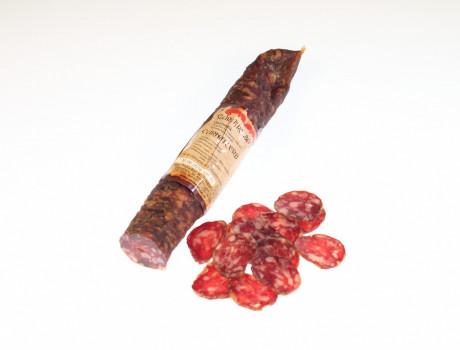 Stag sausage, smoked