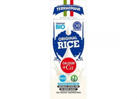 Lapte vegetal din orez cu calciu organic Terraepane