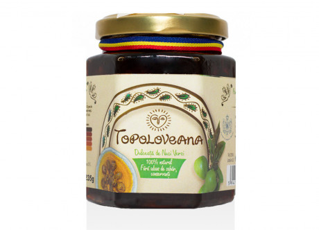 "Green walnut jam ""Topoloveana"""