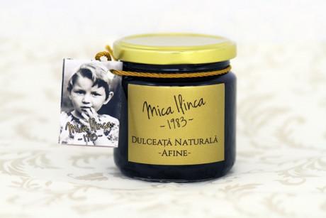 Blueberry marmalade SUGAR FREE Mica Ilinca 220g