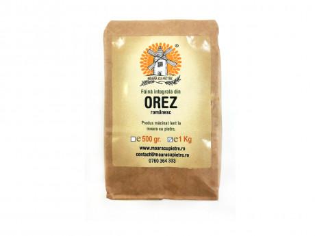 Faina Integrala din orez Moara cu pietre 1kg