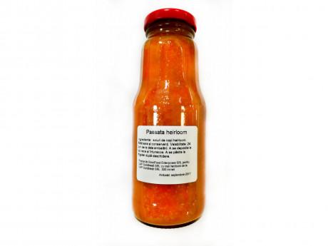 Passata portocalie din roșii Ananas