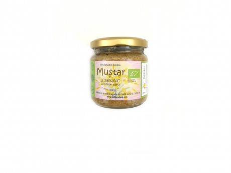 Muștar Classic ecologic cu boabe maro