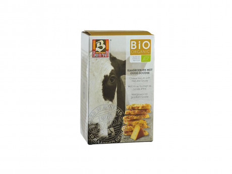 BIO biscuits with matured Gouda cheese