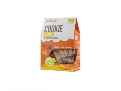 Cookie eco lămâie cu semințe germinate Petras