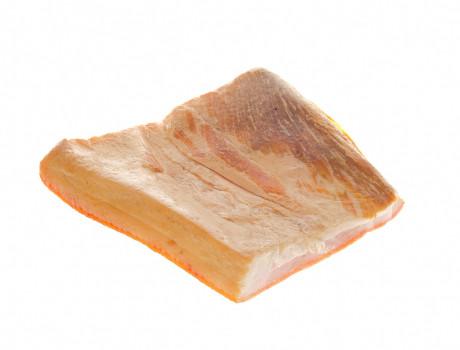 Slănină afumată Mangaliță
