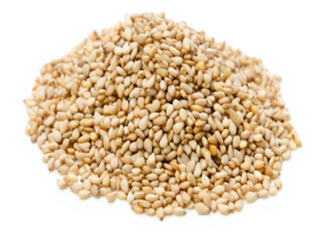 Semințe de susan alb decorticat 100% organic - RealFoods