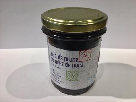 Gem de prune cu miez de nucă Dulceața Lu' Răzvan