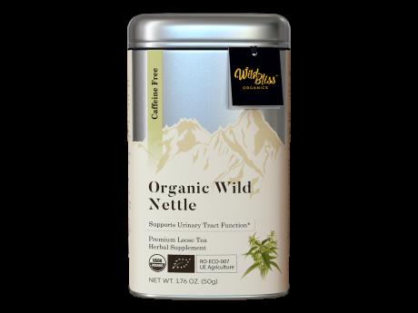 Ceai organic de urzică 50g cutie metalică