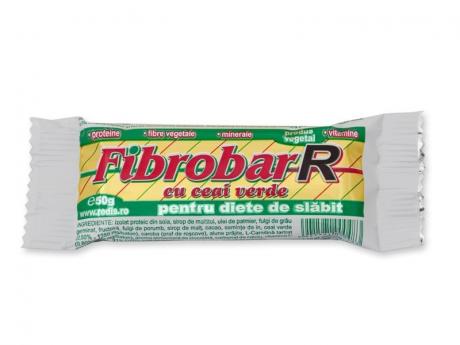 FIBROBAR CU CEAI VERDE 50gr REDIS