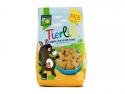 Biscuiți bio din grau spelta și fructe pentru copii
