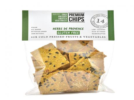 Chips din fructe și legume Ierburi de Provence gluten free