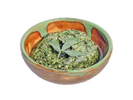 Pesto de Leuștean