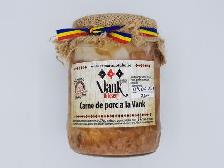 Carne de porc a la Vank Cămara Moțului