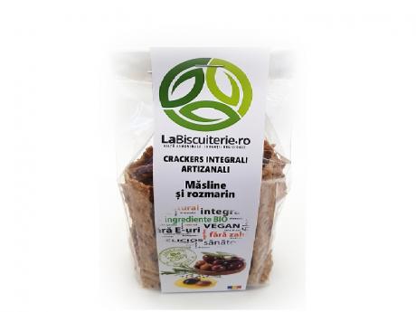 Crackers integrali cu masline LaBiscuterie