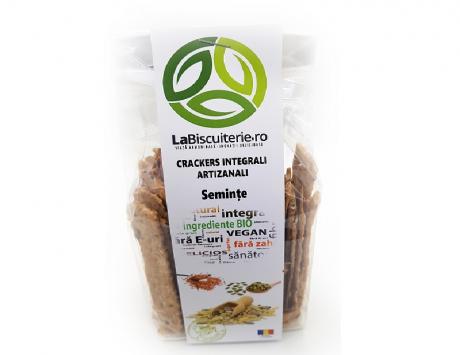 Crackers integrali cu semințe LaBiscuterie