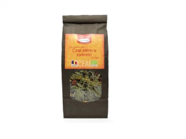 Ceai de plante BIO pentru sportivi