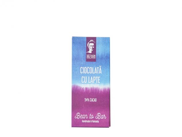 Ciocolata Razvan 54% cacao cu lapte