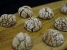 Biscuiti crinkles cu ciocolată belgiană