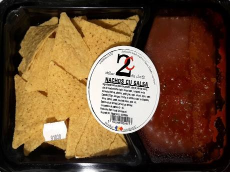 Nachos cu salsa